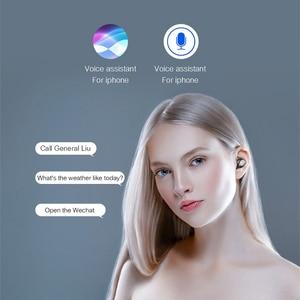 Image 5 - TWS bezprzewodowy/a słuchawki dla Xiaomi Redmi uwaga 8 7 6 5 Pro 7A 6A 5A zestaw słuchawkowy Bluetooth słuchawki + Mic słuchawki z okno ładowania