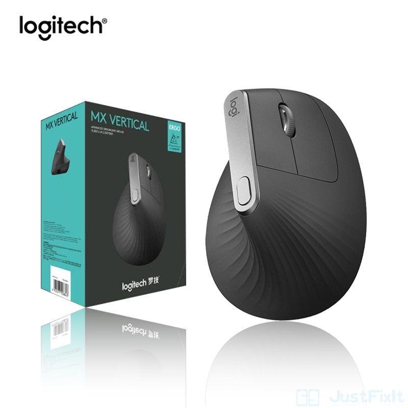 New Logitech MX Vertical bluetooth mouse wireless mouse with FLOW 2.4GHz USB nano for laptop Desktop pc Office mouse