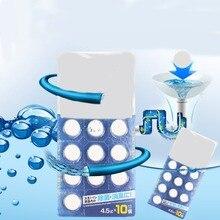 10 шт./упак. автоматический отбеливатель унитаз очиститель для бака Планшеты флеш чистящее средство для Чистки унитаза таблетки дезодорант чистящие средства