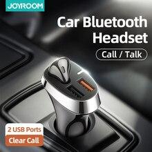 Drahtlose Kopfhörer Bluetooth Auto Einzelnen Montiert Kopfhörer Stereo Headset mit 2 usb Schnelle ladung bluetooth earbuds für fahren