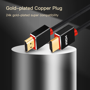 Image 2 - Shuliancable HDMI Cable High speed 1080P 3D gold plated cable hdmi for HDTV XBOX PS3 Projector computer 1m 2m 3m 5m 10m 15m 20m