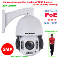 SONY IMX 335 20X ZOOM 5MP 4MP 25fps PoE wifi People Humanoid recognition WIFI PTZ Speed dome IP Camera surveillance(China)