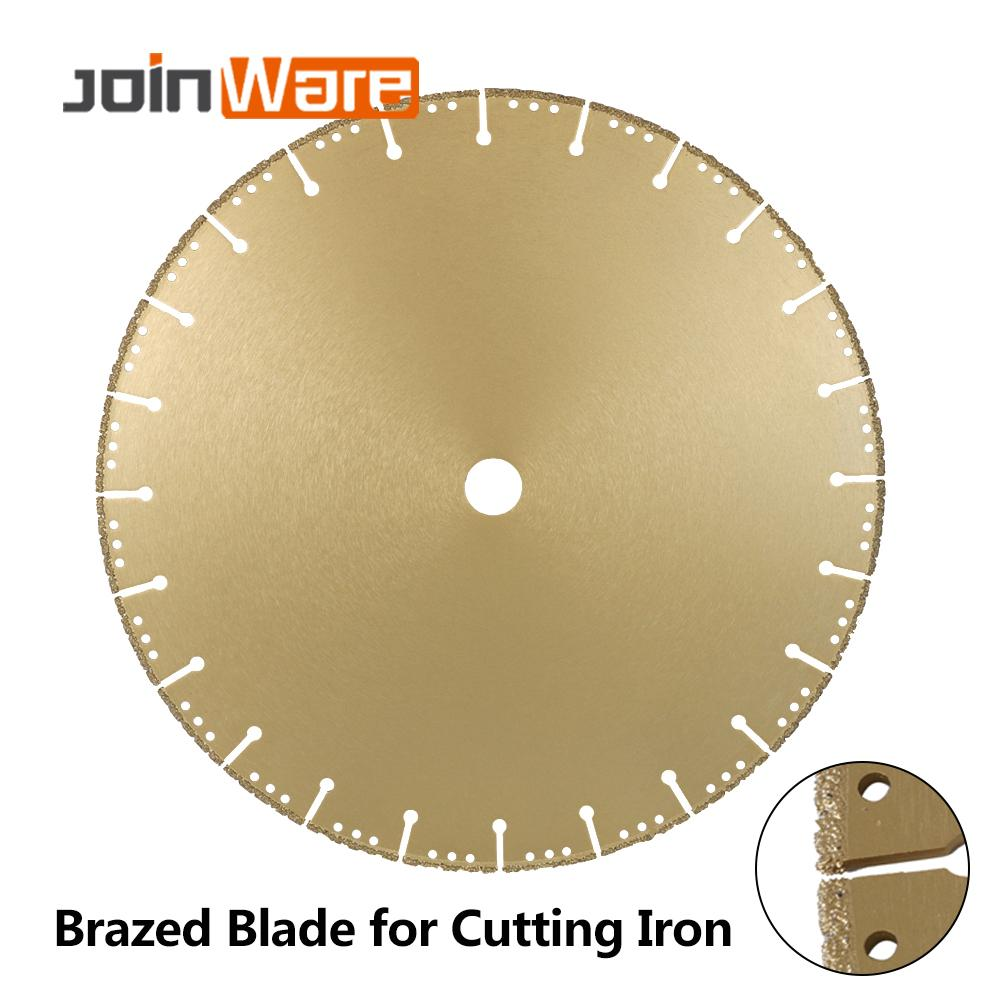 DIATOOL 1pc 350mm Vacuum Brazed Diamond Blade For All Purpose 14 Demolition Blade For Stone Iron Steel - 1