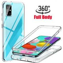 360 עמיד הלם מקרה Redmi הערה 10 4G 10S 9 פרו מקסימום 9S 8 8T 9A 9C 7A K30 K20 Xiaomi Mi POCO M3 X3 NFC F2 11 10 10T Lite כיסוי