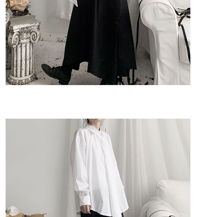 New Fashion Style Oversize Long Tape Full Sleeve Blouse Fashion Nova Clothing