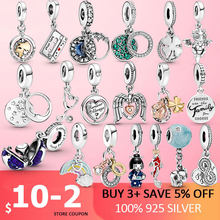 2021 New 925 Sterling Silver World Stethoscope Club 2021 Heart Dangle Charm fit Original Beads Bracelet Silver DIY jewelry gift