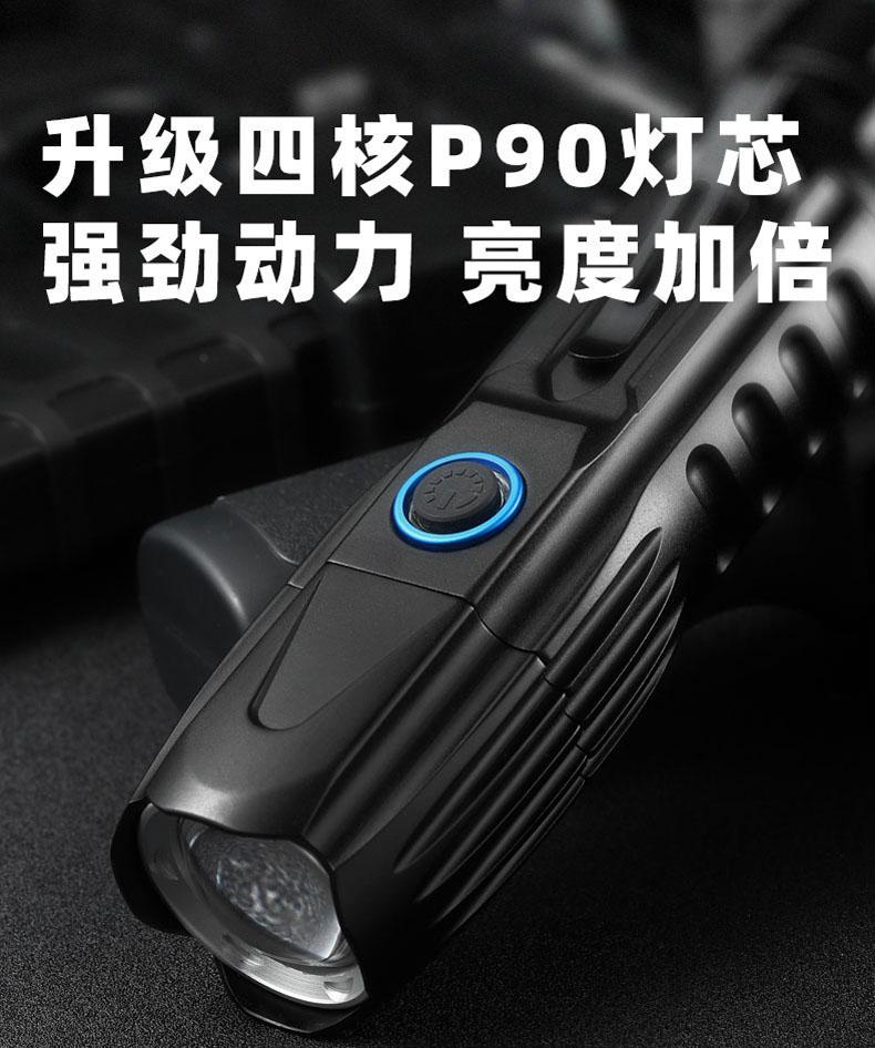 portatil lanterna de acampamento lumen longo alcance 01