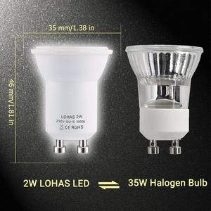 Image 4 - Светодиодсветильник лампа GU10 SMD 3000/6000K, 2 Вт, 35 Вт