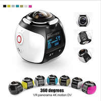 360 Camera HD Ultra Mini Panoramic Camera WIFI 16MP 3D Sports Camera Driving VR Action Camera Video Cam Waterproof 30m