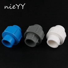 Inner Diameter 50Mm Union Connector Plastic Water Supply Pipe Fittings PVC Joints Easy Install Detachable Vinmin
