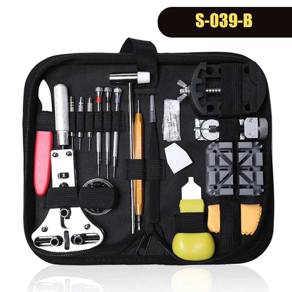 147pcs/set Watch Repair Tool Kit Watch Case Opener Link Remover Screwdriver Repair Tools Kit Watchmaker Tools