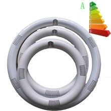 Luz circular de led, luz estroboscópica, tubo de luz led 205 mm 11 w 225mm 12w, tubo fluorescente circular g10q led tubo de luz de alumínio