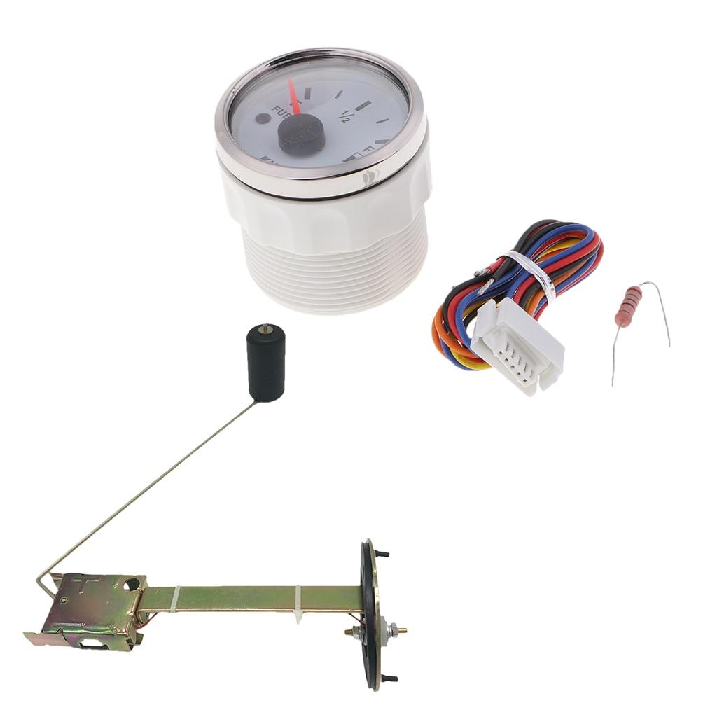 2 medidor de nivel de combustivel combustivel gasolina sensor de calibre de nivel remetente flutuante