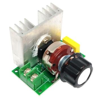 цена на 4000W Thyristor Voltage Regulator High Power Thyristor Voltage Regulator Speed Regulation Temperature Controller