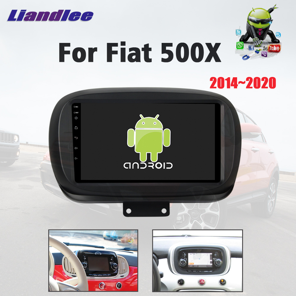 Car Multimedia <font><b>Autoradio</b></font> Player For Fiat 500X 2014~2020 Android Radio Stereo Car Screen BT Carplay DSP Map <font><b>GPS</b></font> Navi Navigation image