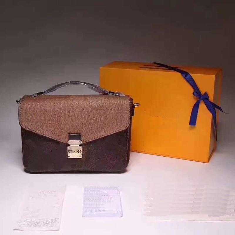 Top Quality Luxury Brand Women Messager Bag New Fashion Women Handbag Metis Bag Brand Design Shoulder Bag Women Shoulder Bag