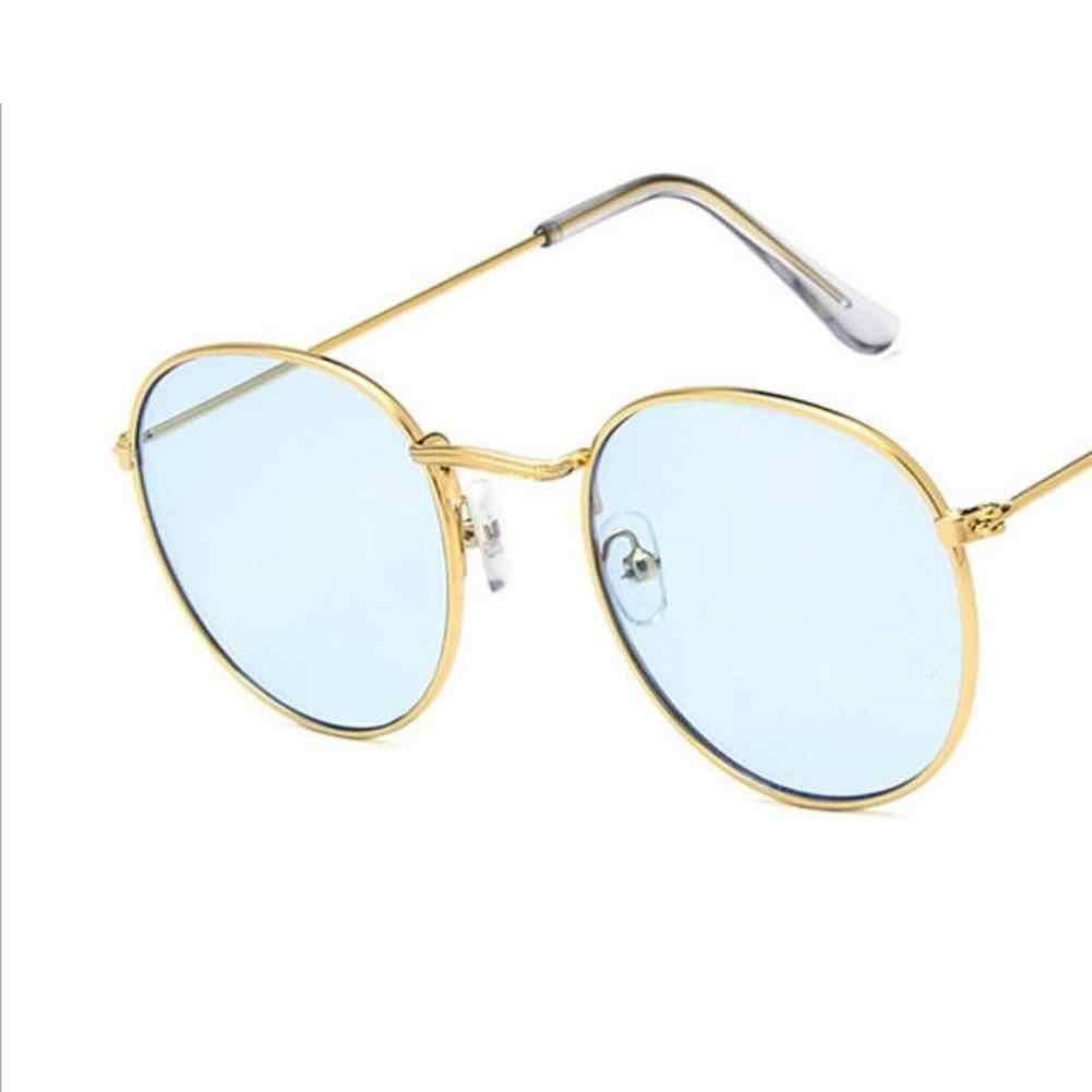 Women Fashion Round Metal Frame Sunglasses Chic Luxury 2019 Lady Brand Design Eyewear Shades Ladies Alloy Sun Glasses UV400