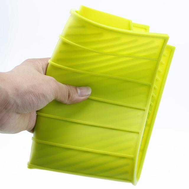 New Drain Mat Kitchen Silicone Dish Drainer Tray Large Sink Drying Worktop Organizer Drying Mats for Dishes Tableware 5