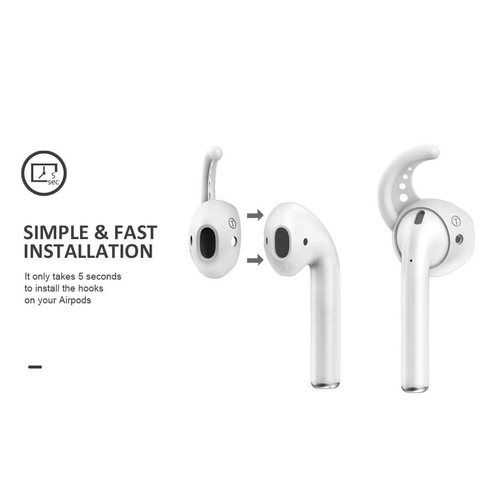US $1.55 22% OFF|liners on airpods case hot for apple silicone earphone covers ipods Eartips Skin for huawei for iPhone 7 case powerbeats pro|Earphone