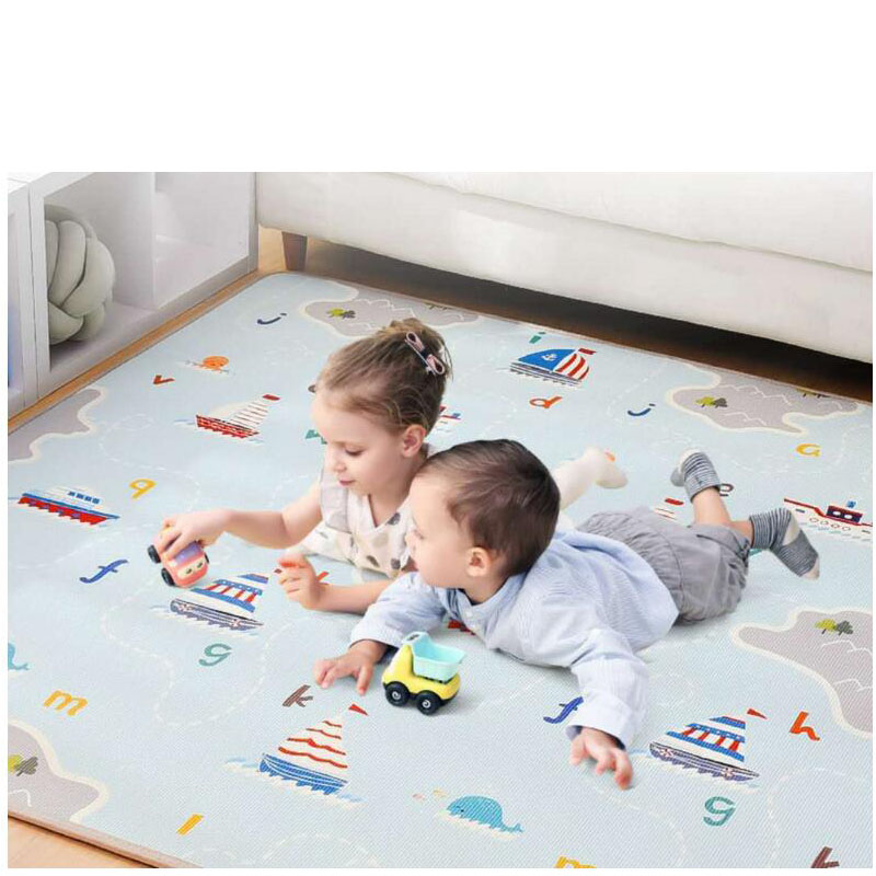 XPE Environmentally Friendly Non-Toxic Baby Crawling Mat Thickening Children's Toys Entertainment Mat Double-Sided Baby Game Mat