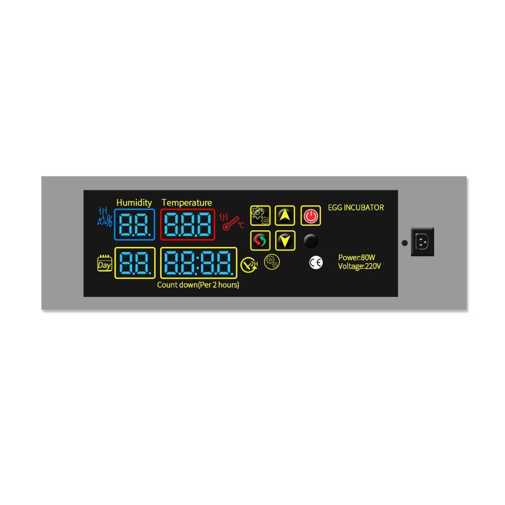 Bricolage HTMC-5 220 V automatique oeuf incubateur pièces de rechange nouveau modèle oeuf incubateur température contrôleur avec Sensers ventilateurs et ainsi de suite