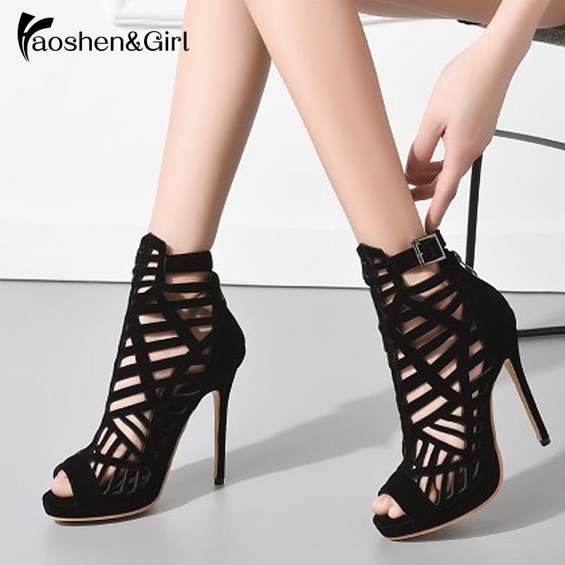 Haoshen\u0026Girl 2019 New Women High Heel