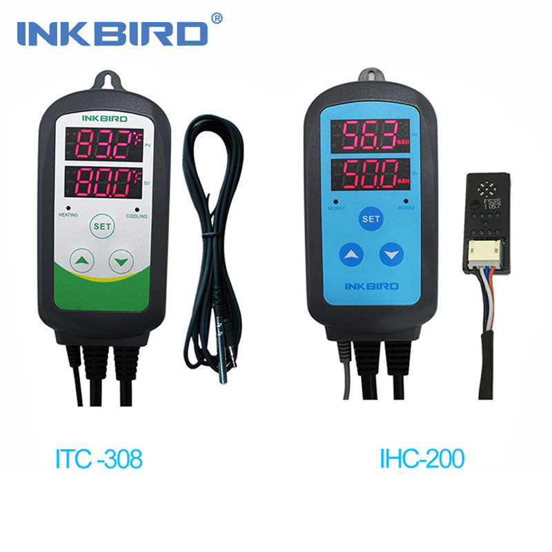 Inkbird Wired AU PLUG 240V Heater Cool Temperature Controller ITC-308 Thermostat
