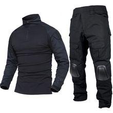 Военная армейская Униформа gen2 bdu боевая рубашка брюки Тактический