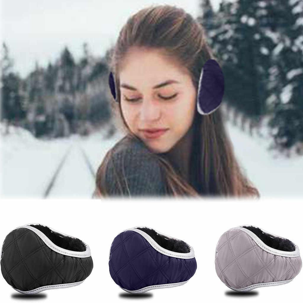 Warm Winter Earmuffs Fashionable Men and Women General Folding Earmuffs  Adjustable Warmer Girls Boys Winter Faux Fur Earmuffs Men's Earmuffs  -  AliExpress