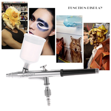 Airbrush Nail-Paint Dual-Action Nozzle Spray-Gun-Set Makeup with for Art New