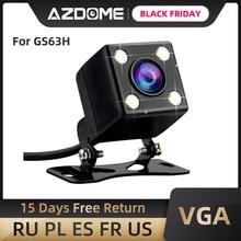 AZDOME Car Rear View Camera 2.5mm (4pin) porta Jack porta Video con visione notturna a LED per GS63H M06 dash cam impermeabile