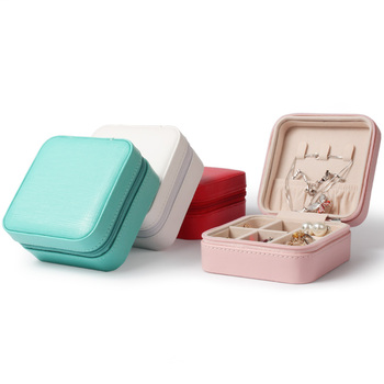 TA MINGREN Small Watch Lipstick Storage Box Women Gift Pu Leather Travel Jewelry
