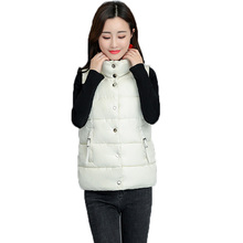 Womens Down Cotton Vest Autumn Winter New Coat Sustans Vests Padded Jacket For Clothing