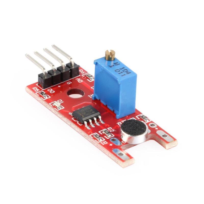 1pcs Smart Electronics KY-038 Microphone Voice Sound Sensor Module Analog Digital Output Sensors Board