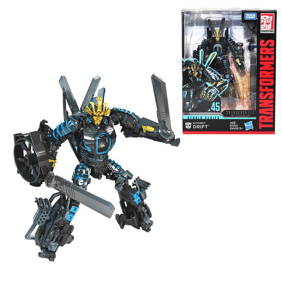 Трансформеры Hasbro, игрушки, студия, серия 45, роскошные экшн-фигурки из фильма «эпоха вымирания» Autobot Drift для коллекции