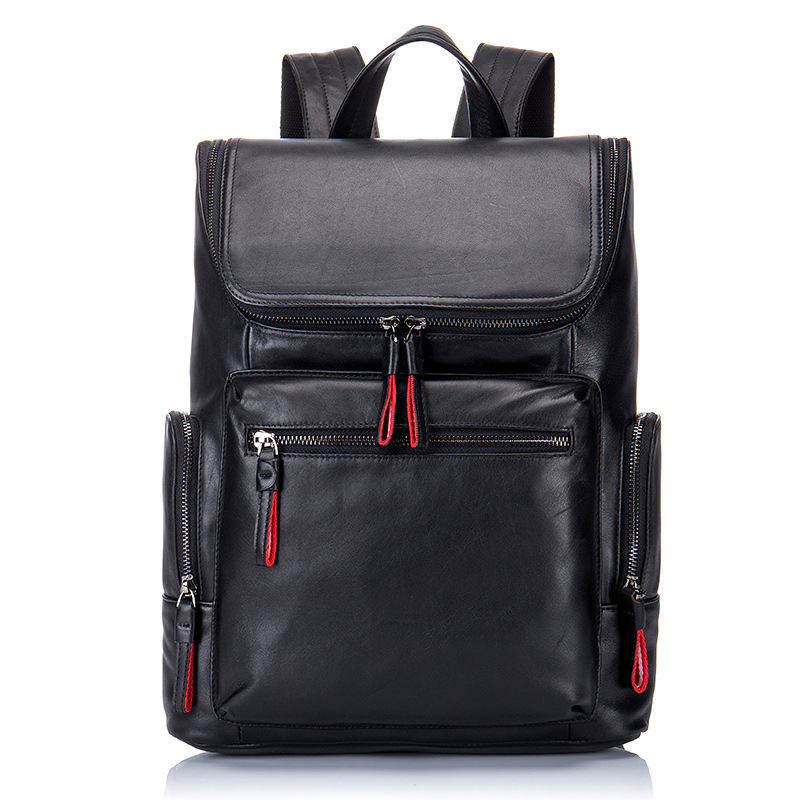 New Cowhide Business Backpack Fashion Men Backpack Crocodile Travel Back Pack Multi-functional Genuine Leather Luxury Backpack