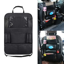 Interior Car Car Organizer Pocket Oxford Cloth Phone Holder Multi Pocket Space Saver Decor Car Automonile Accessories