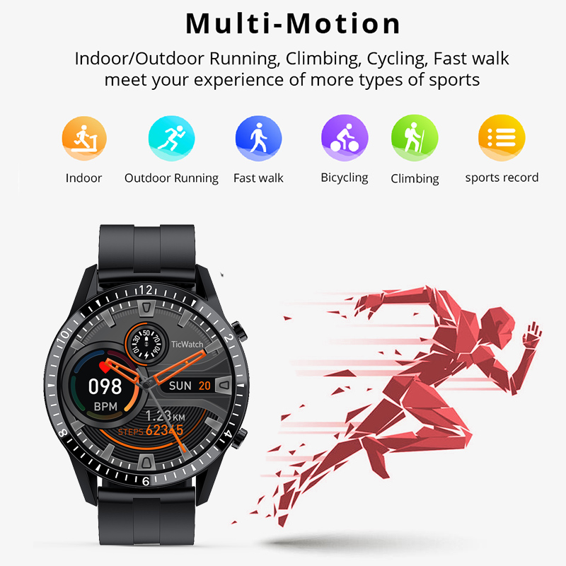 LIGE Smart Watch Men Bluetooth Phone Watch IP67 Waterproof Sports Fitness Watch Health Tracker For Android ios smartwatch Woman