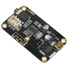 Hot 3C-Mp3 Wireless Bluetooth 4.2 Audio Receiver Decoding Board For Diy Speaker Wireless Car(China)