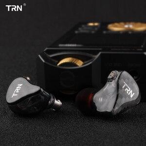 Image 5 - TRN H2 في الأذن سماعة ديناميكية محرك سماعة تشغيل سماعة رياضية باس HIFI ياربود انفصال 2Pin كابل X6 V80 V90 V3