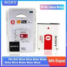 Original Sony NP-BG1 NP BG1 NPBG1 Camera Battery pack FG1 DSC W120 W125 W130 W150 W170 W200 W210 W220 W230 W290 T20 T100 HX30