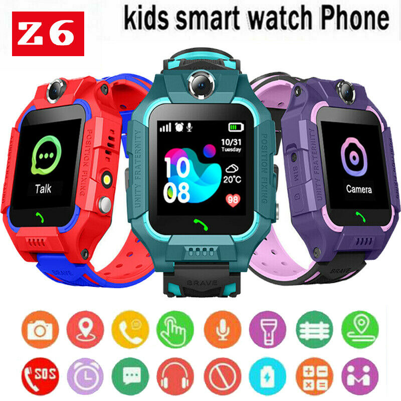2020 Newest Fashion KIDS Smart Watch Phone Call Alarm Step counter Camera USB3.0 For Kids Child