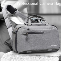 Photography DSLR Camera Bag Case for DSLR Camera Nikon Canon Sony Pentax Digital Camera Universal Shoulder Backpack Lens Pouch