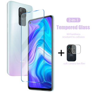 2 in 1 Protective Glass for Redmi Note 9 Pro Max 9s 5a prime Rear Camera Lens Protector for Redmi K20 Pro K30 Pro K30i 5g Glass