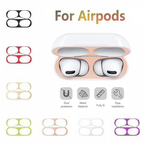 Dust Guard For Airpods pro 2 3 Case Ultra Thin Metal Dust Guard Inner Cover For Air pods pro 2 Eirpods Pro New 2019 Airpots Etui(China)