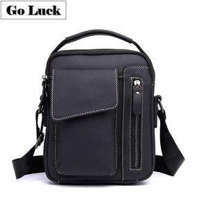 Man Handbag Cowhide Leather Me