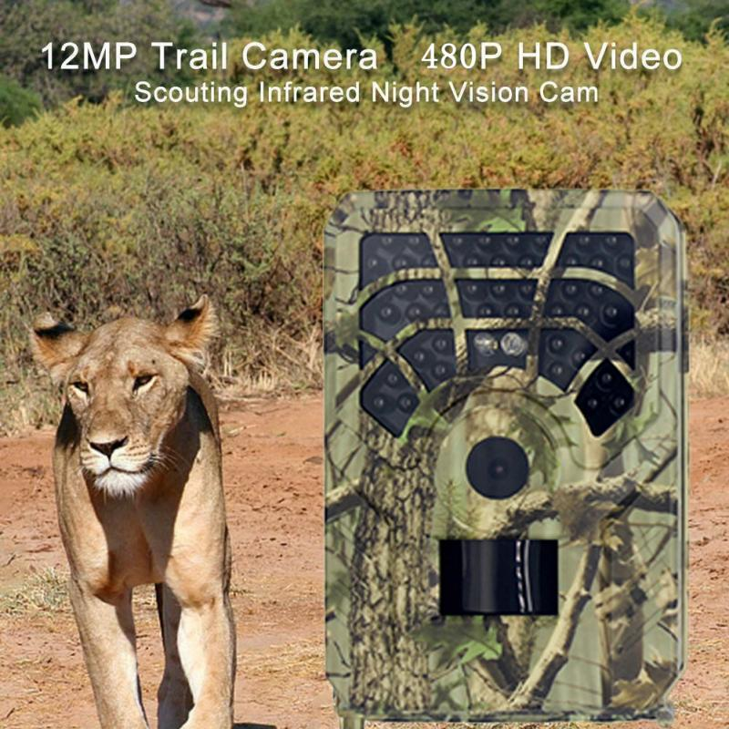 2020 New Hunting Camera 16MP Trail Camera Night Vision Forest Waterproof Wildlife Camera Photo Traps Camera Chasse Outdoors