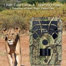 2020 professionale HC801A Macchina Fotografica di Caccia Trappola 16MP 1080P Versione di Notte Trail Macchina Fotografica A Raggi Infrarossi Selvaggio 0.3s Trigger Caccia Telecamere hot