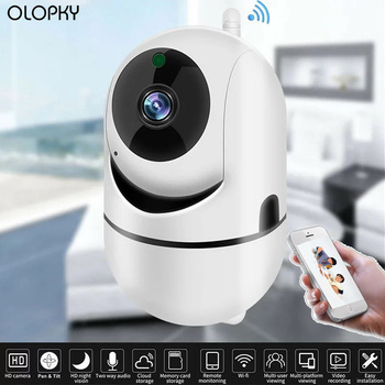 1080p Mini Intelligent Surveillance Camera Home Wifi Network Camera HD Night Vision Monitor Home Security Monitoring Baby Camera