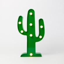 Cactus Christmas battery light design lamp led plastic light holiday light lighting led